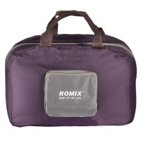 Romix Travel Collapsible Handbag (Wine Red)