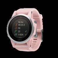 Garmin Fenix 5S Sapphire [42mm] Sport Watch (Pink Meringue)