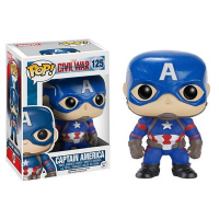 Funko POP Marvel (Captain America 3: Civil War): Captain America