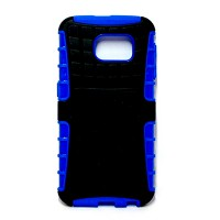 PLG Samsung S6 Rugged Case with Stand (Blue)