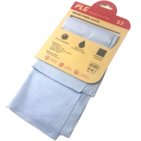 PLG JQ04 2 in 1 Micro-Fiber Cloth (Light Blue)