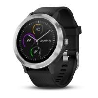 Garmin Vivoactive3 Smart Watch (Black & Stainless)