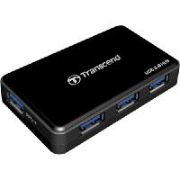 Transcend USB 3.0 4 Port Hub with 1 Fast Charging Port