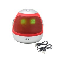 PLG A31 Bluetooth Speaker With LED Light (Red)