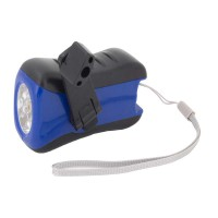 PRS 6+1 Hand Power Torch Light (Blue)