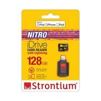 Strontium iDrive Card Reader With Lightning (128GB)