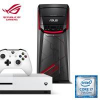 [Xbox Bundle] Asus G11CD-K-SG014T ROG Desktop (Intel i7, 16GB RAM, 1TB HDD + 128 SSD, GTX1060(6G) + Xbox One S (Pro Pack)