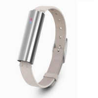 Misfit MIS1002 Ray Leather Fitness Tracker (Silver/Cream)