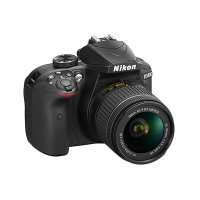 Nikon D3400 18-55mm VR Lens Kit (Black)