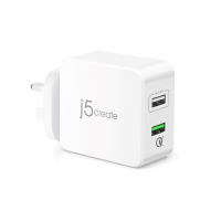 J5Create JUP20 2-Port USB QC 3.0 Super Charger
