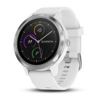 Garmin Vivoactive3 Smart Watch (White & Stainless)