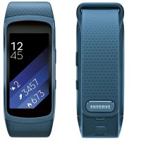 Samsung Gear Fit 2 Sports Band (HR + GPS) (Size S) (Blue)