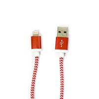 PLG LC-02 8Pin Charging Cable 1m (Red)