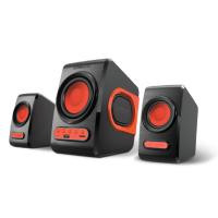 SonicGear Quatro V Speaker (B. Festive Red)