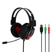 Valore Red Iris – Gaming Headphone With Mic (HS0013)