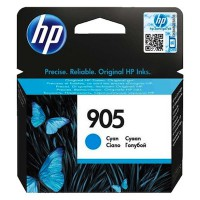HP 905 Cyan Original Ink Cartridge (T6L89AA)