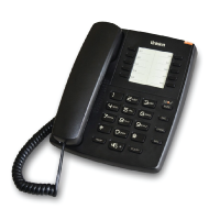 Uniden AS7301 Corded Phone with Speaker (Black/White)