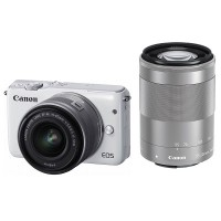 Canon EOS M10 Kit III (EF-M15-45mm & EF-M55-200mm)