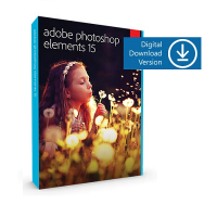 Adobe Photoshop Elements 15 Multi-Platform License 1 User