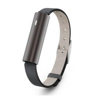 Misfit Ray Leather Activity Tracker (Carbon Black)