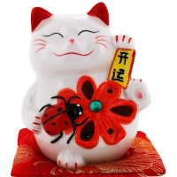 [New Arrival] ValueClub LED Fortune Cat (Ladybird)