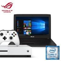 [Xbox Bundle] Asus FX502VM-DM298T Notebook (Intel i7, 16GB RAM, 1TB HDD + 128 SSD, GTX1060(3GB) + Xbox One S (Pro Pack)