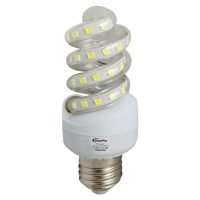 PowerPac PP6007WW 7W Warm Twisted LED Bulb (White)
