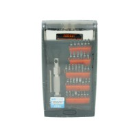 PRS JM-8151 38 in 1 Aluminium Screwdriver Set (Black)