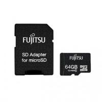 Fujitsu 64GB microSD Retail CL10 w/SD Adaptor HLACC1052C-N1