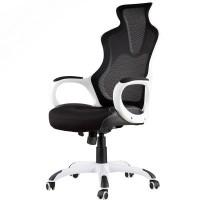 Inkagu J21-M104 White Frame with Black Mesh Gaming Chair (Nylon)