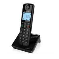Alcatel Single DECT Phone S250 (Black)