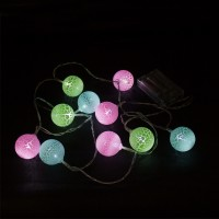 PRS TZBO2029 LED Decoration Light With Ball (Multi)