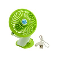 PLG USB Fan With Clip (Green)