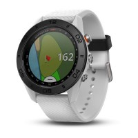 Garmin Approach S60 with Silicon Band Golf Watch (White)