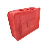 PRS Travel Storage Box 6pcs Per Set (Red)
