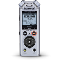 Olympus Voice Recorder 4GB (LS-P1) (Silver)