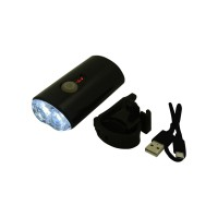 PRS RH356  Bicycle Charging Headlight (Black)