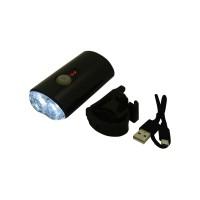 PLG RH356  Bicycle Charging Headlight (Black)