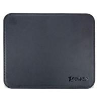 XPower  Premium Leather Mouse Pad  (Black)
