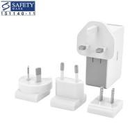 VALORE 4-Port USB Travel Adaptor Kit Bundle (JK050500-S23EUU) (White)