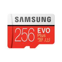 Samsung MicroSDXC EVO Plus Memory Card w/ Adapter 256GB [MB-MC256GA]