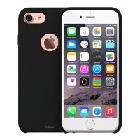 Redmonster iPhone 7/8 Liquid Silicon Case (RMLS-IP7/8-LSBK) (Soft Black)