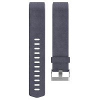 Fitbit Charge 2 Leather Accessory Band (Indigo - Size S)