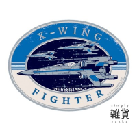 Star Wars Travel Sticker 4 The Force Awakens X-Wing