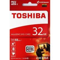 Toshiba Exceria 32GB Micro SDHC CL10 UHS-I 48MB THN-M301R0320A4