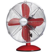 Thomson TM-FT30MSR Retro Table Fan (Red)