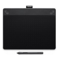 Wacom Intuos 3D Pen & Touch Tablet (Black)
