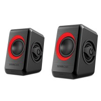 SonicGear Quatro 2 Mini Speaker (Red)