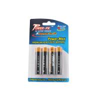 PowerPack AA Premium Heavy Duty 4 pc Blister