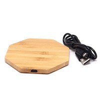 PRS 916 Wireless Charger Wooden (Trigram)
